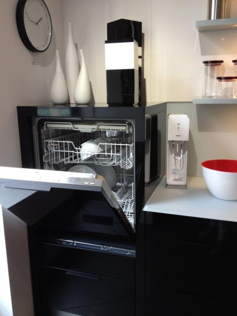 Load the dishwasher without bending over. So simple; so brilliant.
