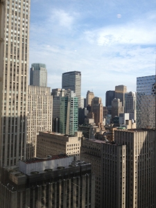 A view over Gotham: Another beloved view from my former office building.