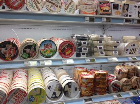 round cheeses
