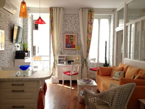 My friend's beautiful place in Nice. An incredible place to stay! Photo: ©Lisa Anselmo