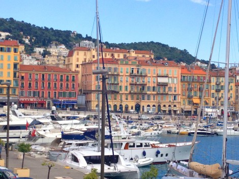 The old port of Nice. Photo: ©Lisa Anselmo