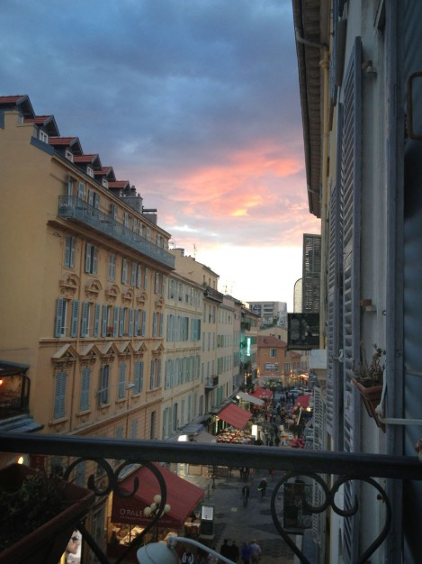 View from the balcony. Photo: ©Lisa Anselmo