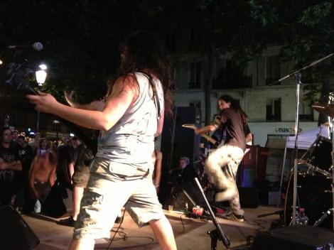 Thrash band, Cirque d'Hiver. ©Lisa Anselmo