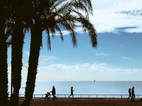 Promenade des Anglais, Nice. ©Lisa Anselmo
