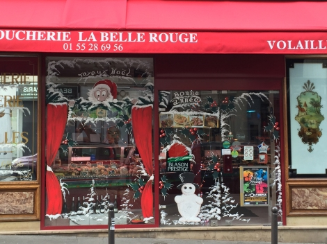 Local boulangerie, 11th arrondissement, really takes the season seriously. ©Lisa Anselmo