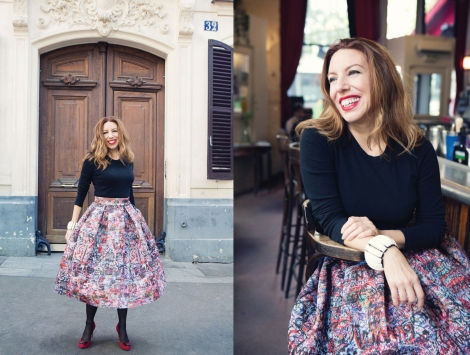 """Oh my God, I'm Carrie Freaking Bradshaw,"" I said when I saw these photos. ©Carla Coulson"