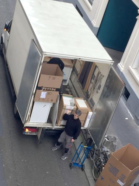 Delivering my kitchen